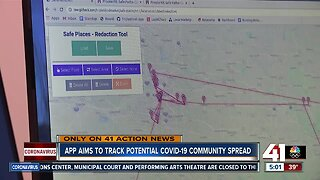 App aims to track potential COVID-19 community spread