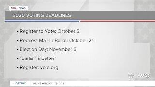 Voting deadlines for 2020
