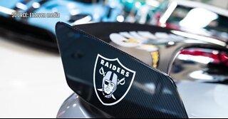 Raiders coach gets custom Ford Mustang