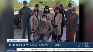 Healthcare worker shares story after battling COVID-19