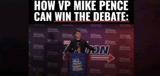 Charlie Kirk: How VP Pence Can Win