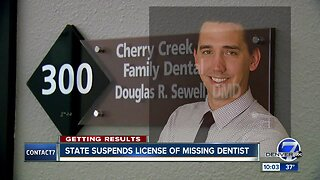 Contact7 gets results: Cherry Creek dentist's license suspended