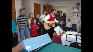 Community Activities - Youth Visits Sunny Acres Nursing Home, Christmas 2008