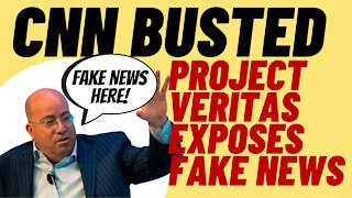 """CNN BUSTED By Project Veritas Again Over """"Propaganda"""""""