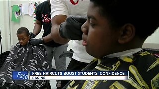 Cuts for kids: Racine barbershop giving students free haircuts while at school