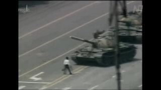 Tiananmen Square Massacre of Protesting Students