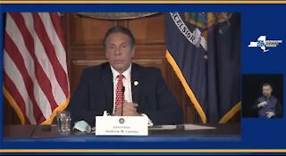 Odd: Cuomo Jokes That He's Tall, Good Looking, Button Nose