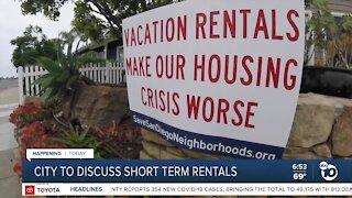 City to look into short-term rentals debate