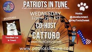 PATRIOTS IN TUNE #408: CATTURD WEDNESDAY! 7/14/2021