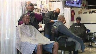 Local members of the Black community stand behind NBA boycott