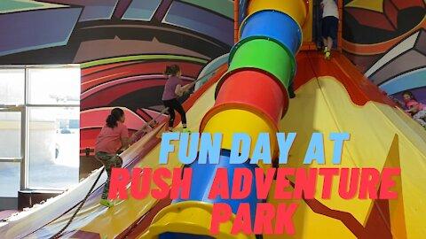 FUN DAY AT RUSH ADVENTURE PARK   Kids Fun video