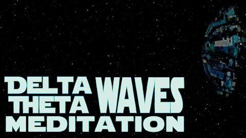 Spacecraft Ambience Delta & Theta Binaural Beats Relaxation Meditation