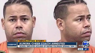Former Colorado Springs teacher, cheer coach charged with sexual assault on child