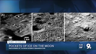 Tucson science group finds ice pockets on moon