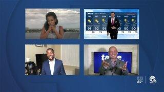 First Alert Meteorologist Glenn Glazer signs off from WPTV
