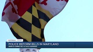 Police Reform Bills in Maryland