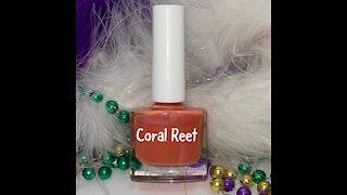 How To Make Nail Polish Color Coral Reef