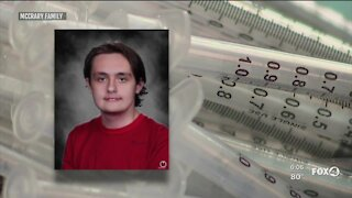 Teens eligible for Pfizer vaccine