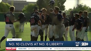 23ABC Sports: Liberty baseball wins in Division One semifinals to advance to the valley championship