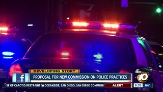 New commission on San Diego police practices proposed