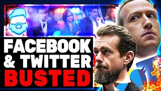 Twitter CEO Jack Dorsey BUSTED & Facebook CEO Mark Zuckerberg GRILLED By Senate