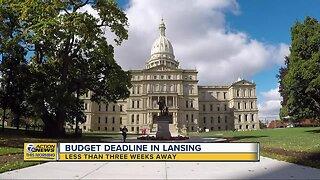 Budget deadline in Lansing less than 3 weeks away