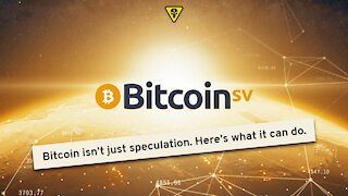 Bitcoin isn't just speculation