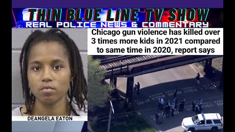 Trouble In Chicago: Cop Shooter Will Serve 8 years, Kids Getting Killed Up 300% This Year