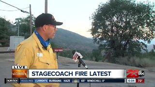 KCFD gives update on Stagecoach Fire