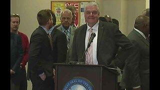 Nevada Gov. Steve Sisolak leads press conference on coronavirus concerns