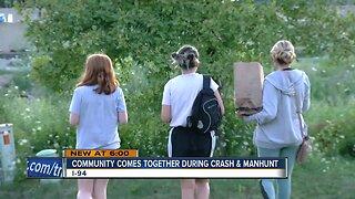 Oak Creek neighbors unite after crash near neighborhood