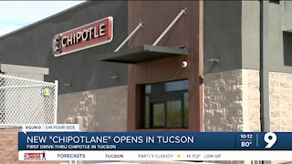 Chipotle opens pick-up drive-thru lane in Tucson