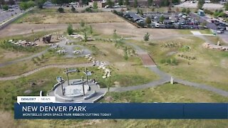 New open space park opening in Denver today