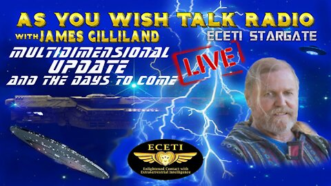 James Gilliland - As You Wish Talk Radio LIVE