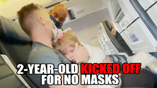 2-Year-Old KICKED OFF United Airlines Flight for No Mask