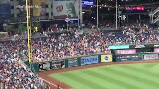 Shooting outside nationals park