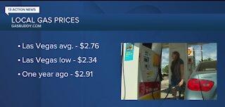 Current gas prices in Las Vegas