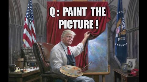 Q: PAINT THE PICTURE! TRUMP: BEST IS YET TO COME! 80% COVERT MILITARY INTELLIGENCE STING OPERATION!