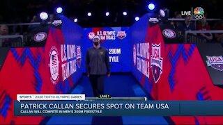 Patrick Callan makes USA Swim Team for 2020 Tokyo Olympic Games