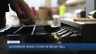 Michigan governor signs COVID-19 relief bill