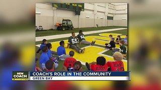 Packers new coach Matt LaFleur's community impact in Wisconsin
