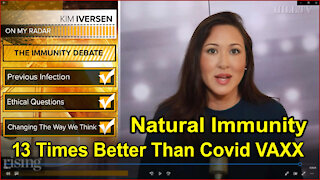 PROOF: Natural Immunity Far Superior to Vaccines