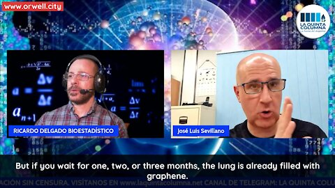 Dr. José Luis Sevillano explains how graphene oxide and EMFs create the so-called COVID lung