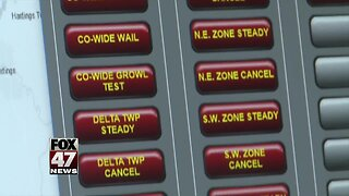 Why only part of Eaton County heard tornado sirens Sunday night