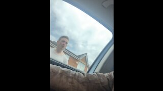 Guy Confronts Driver Over Parking Spot