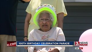 100th birthday celebration parade