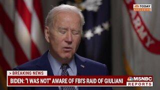 Joe Biden On Giuliani And Flynn!