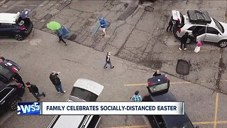 Northeast Ohio family comes together while staying apart for Easter dinner