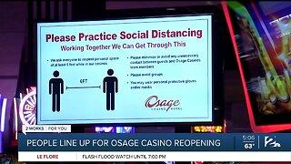 casinos reopen in Tulsa