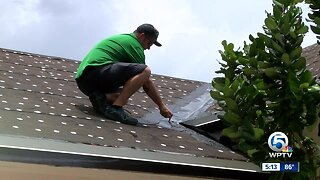 Roof repairs delayed during hurricane season